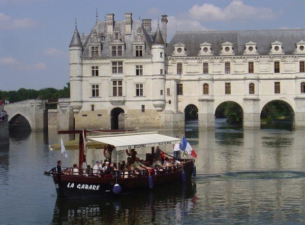 Chenonceaux en bateaux