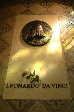 Tombeau de Léonard de Vinci au Château Royal d'Amboise