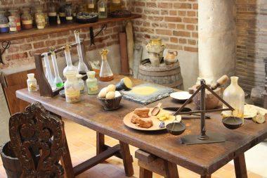 Les ateliers de Léonard de Vinci au Clos Lucé, Amboise Val de Loire