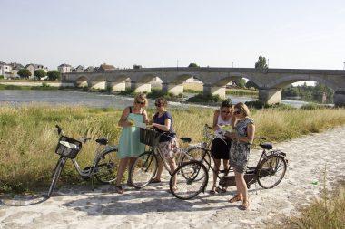 La Loire à Vélo à Amboise