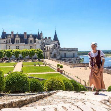 Visite guidée costumée – Château Royal d'Amboise