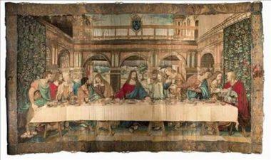Exposition Clos Lucé - La Cène Léonard de Vinci
