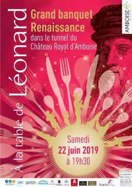 Banquet 500 ans Renaissance Amboise Val de Loire
