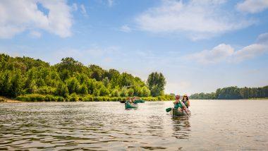 Canoe kayak bateau croisière sur la Loire Amboise Val de Loire