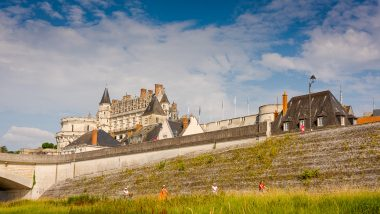 Amboise, piste et circuits de la Loire à Vélo