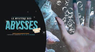 escape game amboise mystère des abysses aquarium de touraine