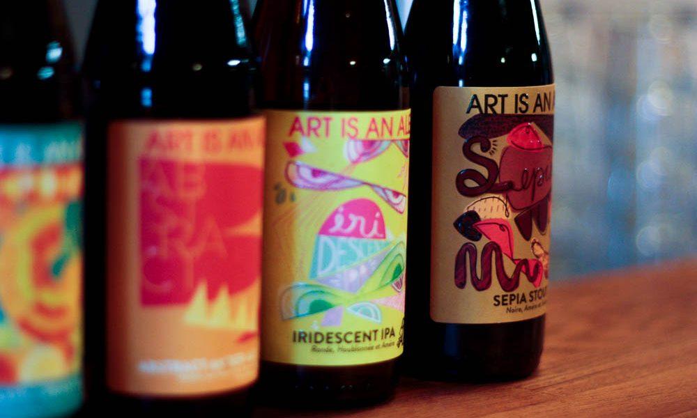 La brasserie Artisanale Brewing à Amboise
