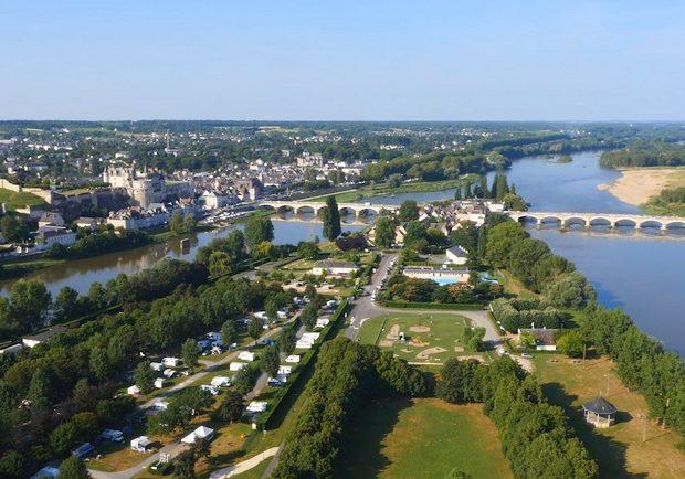 Aire de services du camping municipal d'Amboise
