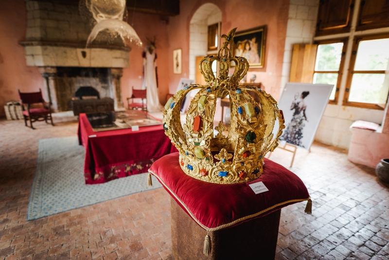 Chateau du Rivau – Salle Dames- Credit ADT Touraine JC CoutandREDI