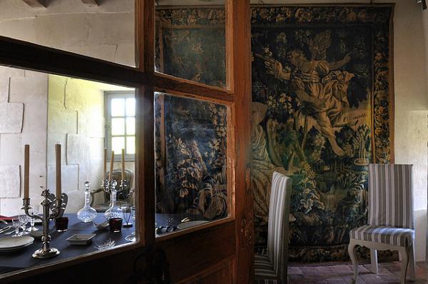 Château-Monastère de la Corroirie – La salle à manger