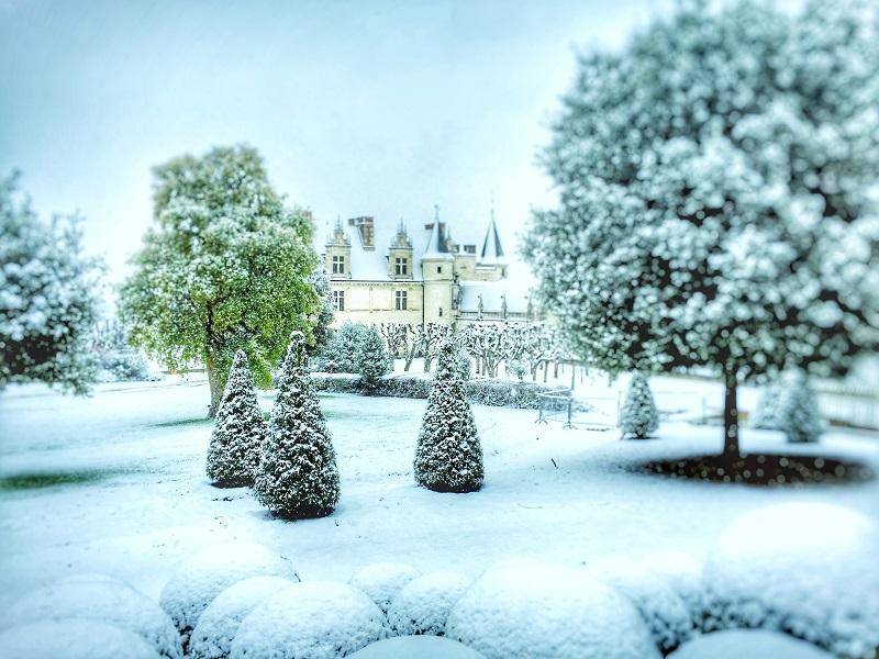 Exposition Noël, rêves d'enfance, Il a neigé au château, au château royal d'Amboise