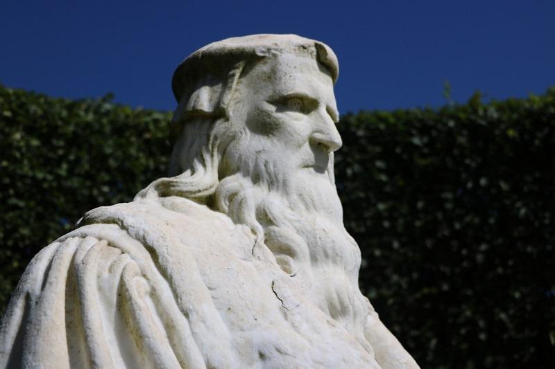 Buste Léonard de Vinci