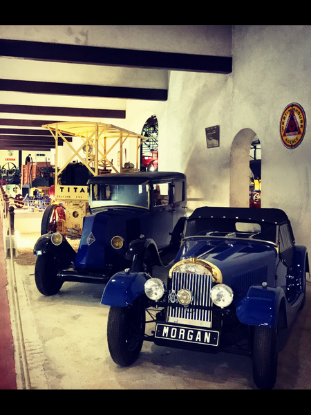 Morgan Plus 4 1950 – Renault – Musée Maurice Dufresne