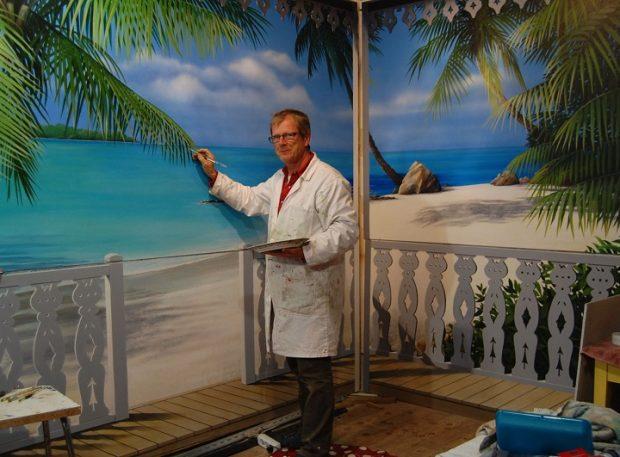 Philippe Merlevède – Peinture en trompe l'oeil