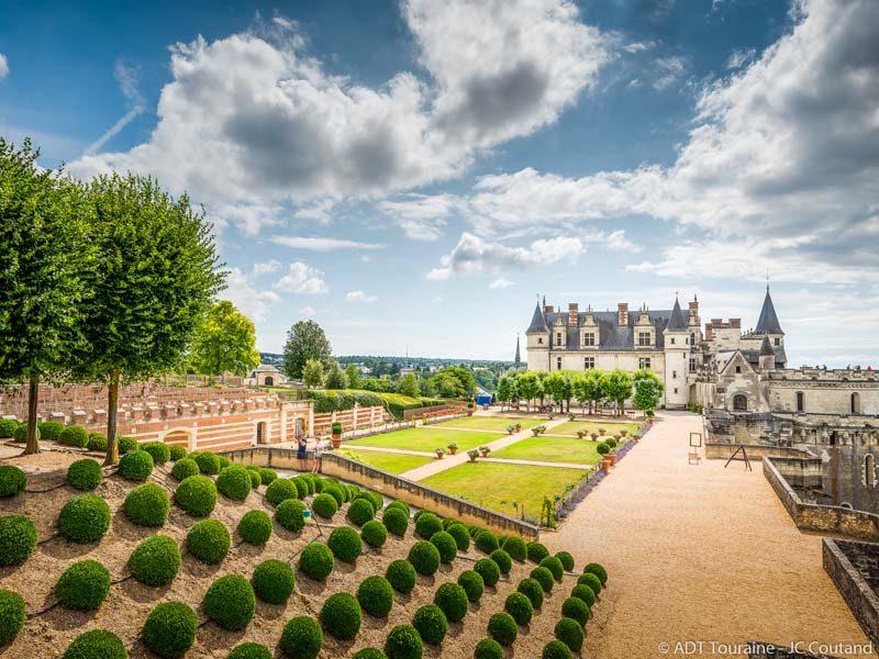 Château royal d'Amboise – Le jardin de Naples