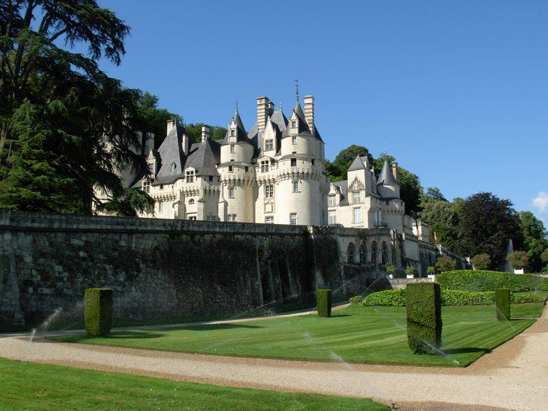 Le château d'Ussé et son jardin
