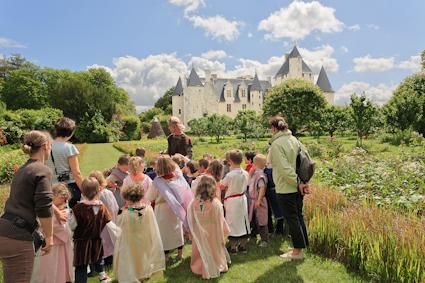Visite  Il était une fois la vie de château du Rivau