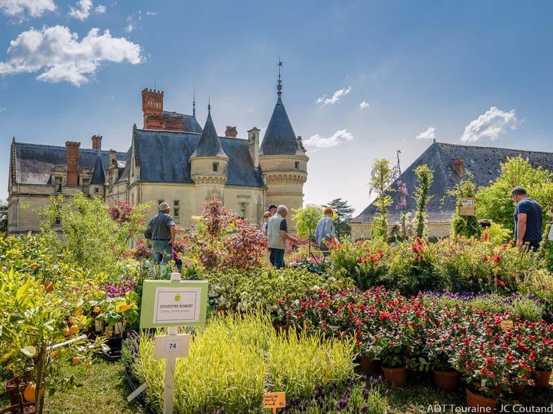 Fête des plantes et des poules Château de la Bourdaisière