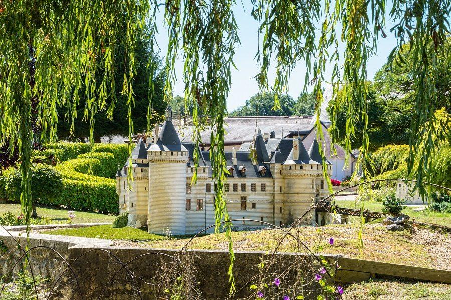 Les châteaux de la Loire en miniature