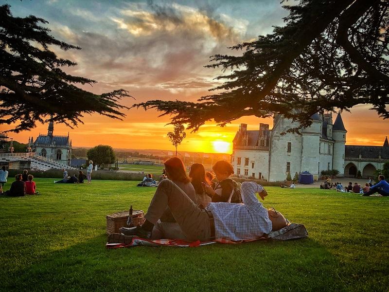 Soirées Pique-niques panoramiques au château Royal d'Amboise